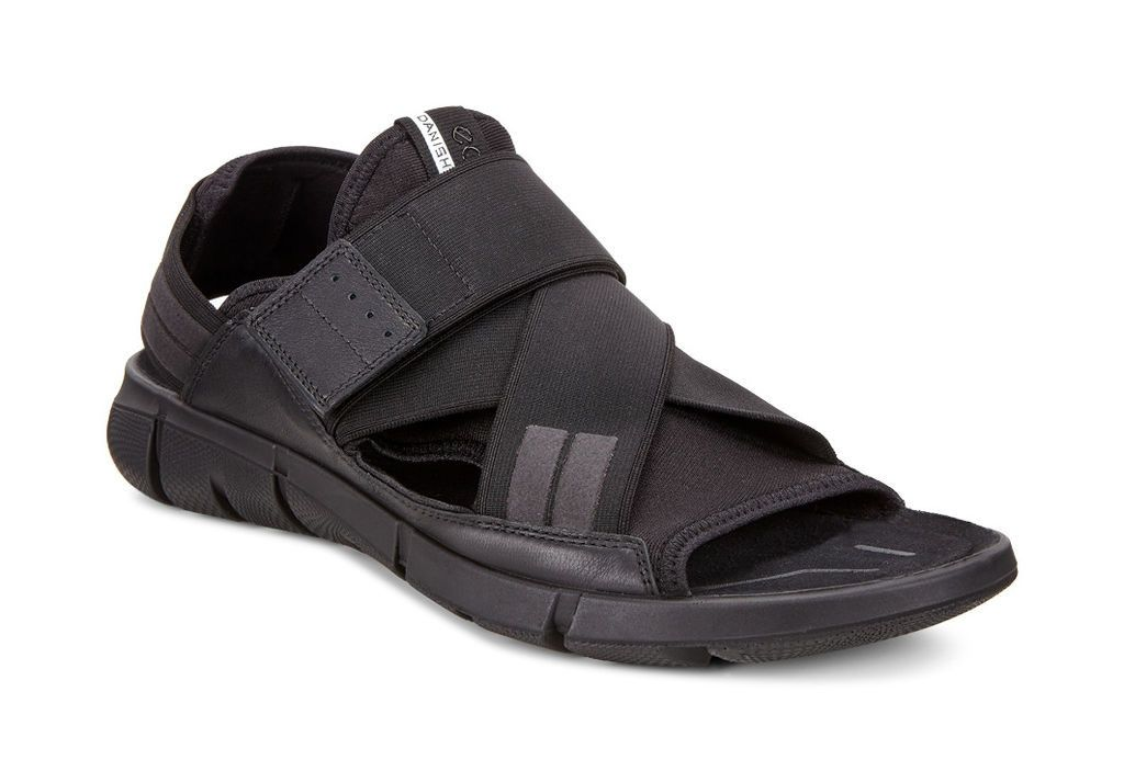 ecco mens leather sandals