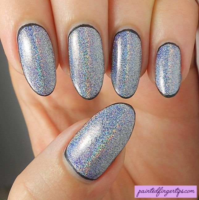 31DC2016 Day 8: Holo powder nails for Metallic | Holo powder, Beauty ...