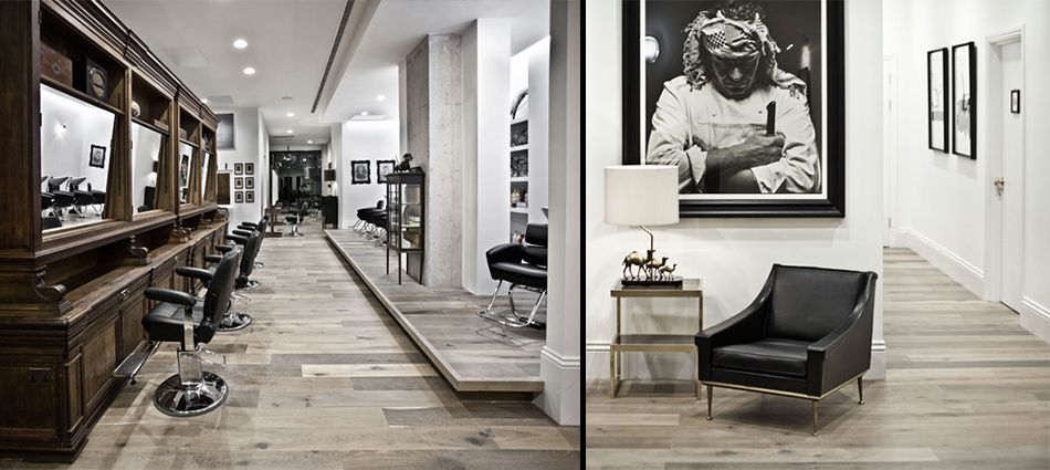 Interiors - Ryan McElhinney's Salon for Adee Phelan |