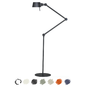 Tonone Bolt Floor Lamp Double Arm With Images Floor Lamp