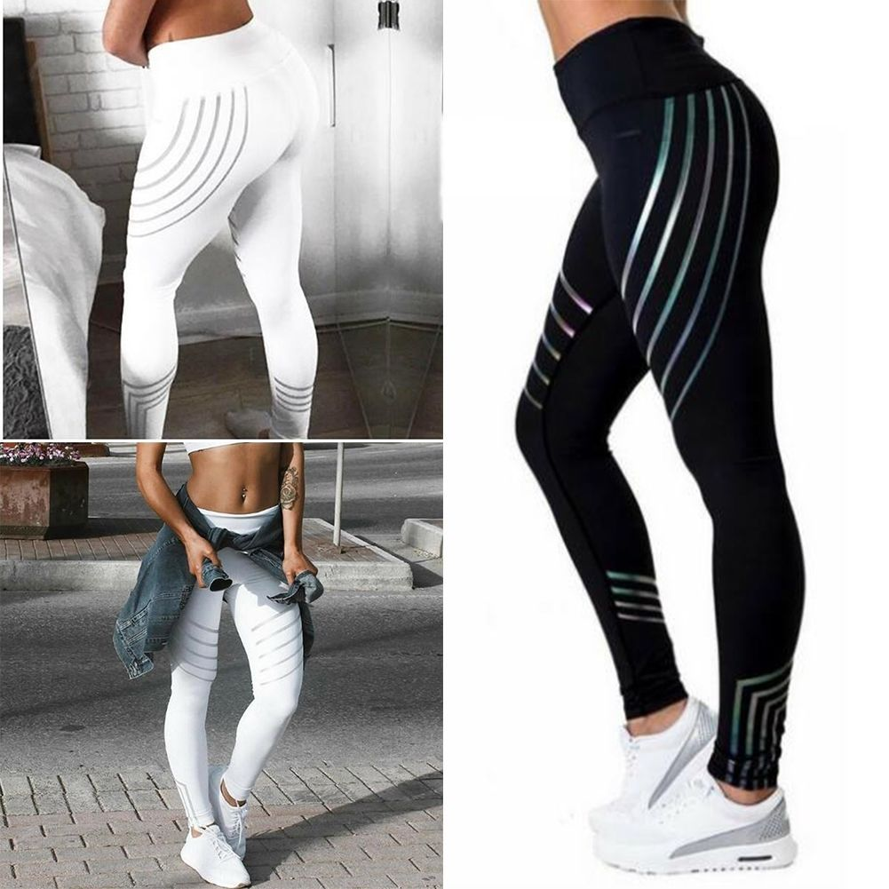 Competent 2017 Beach Wear Womens Yoga Workout Gym Leggings Fitness Sports Trouser Athletic Pants Suitable For Men And Women Of All Ages In All Seasons Sports & Entertainment