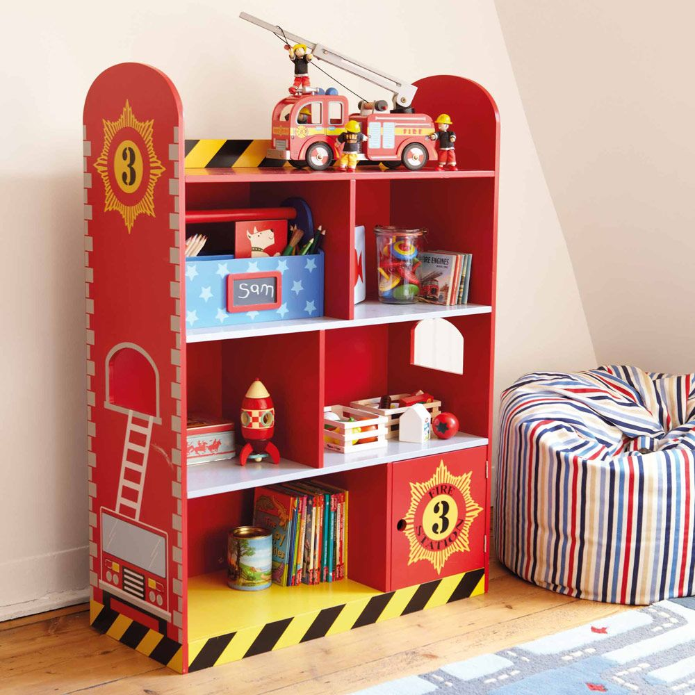 Fire Engine Bookcase Our Toddler Bedroom Create The Look Gltc