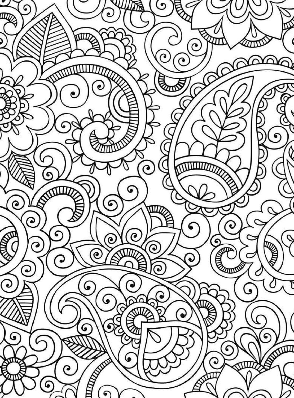 Tesouro Indiano Para Colorir E Relaxar Formato Convencional