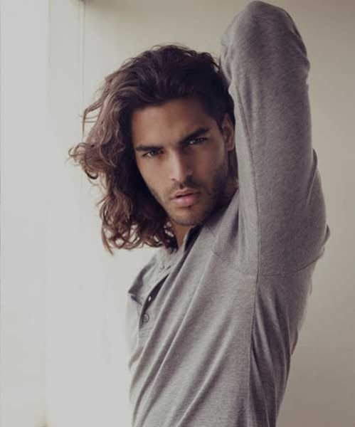 Long Hairstyles For Men With Thick Hair Long Hair Styles Long Hair Styles Men Mens Hairstyles