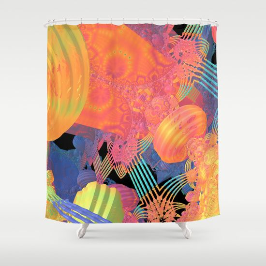 Mardi Gras Shower Curtain Design By Lyle Hatch