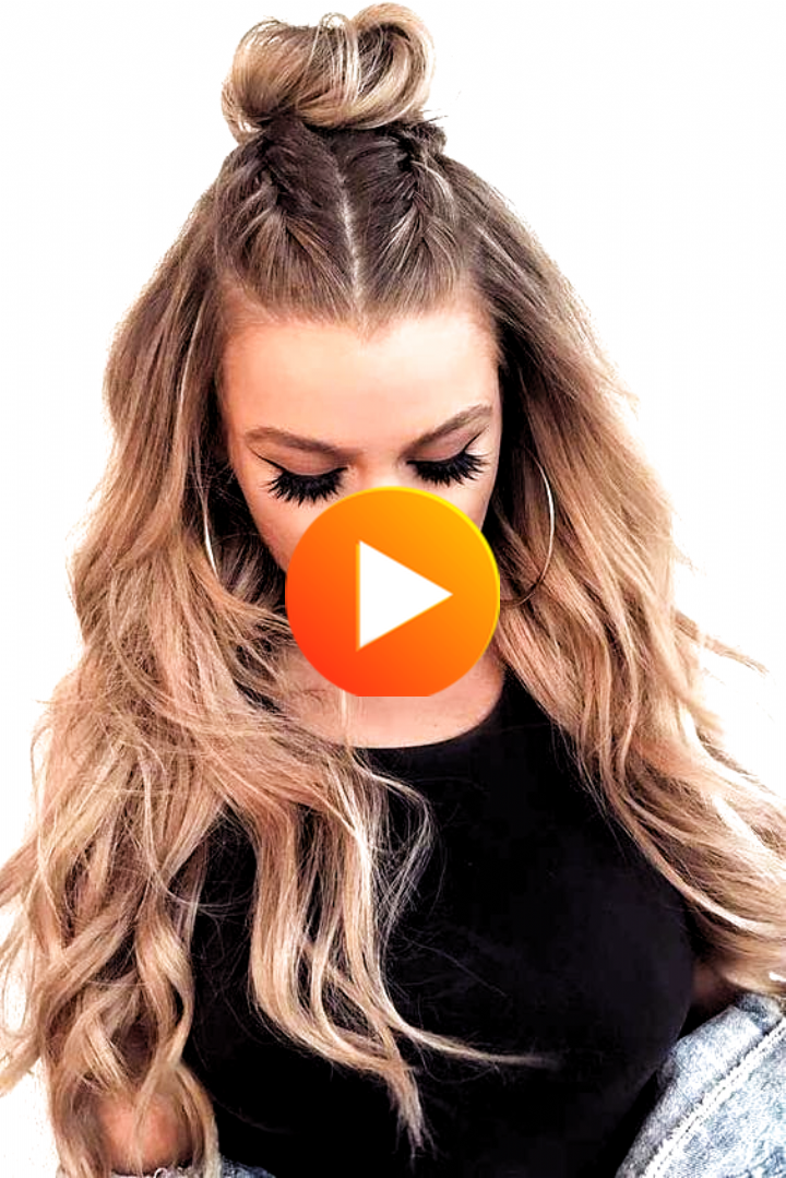 Easy Hairstyles That Can Make You Look Cute Are Exactly What We Need During Christmas The Only In 2020 Easy Hairstyles Hair Styles Hair Lengths
