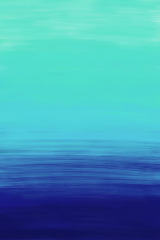 Ocean Mint Blue Navy Paint Strokes Ombre Interior paint