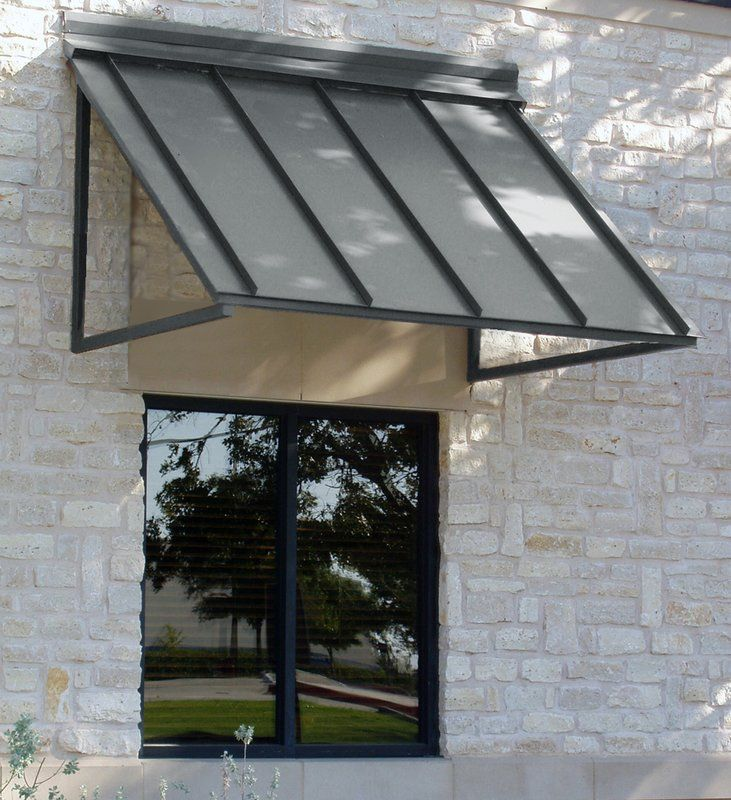 Houstonian Aluminum Standard Window Awning Door awnings