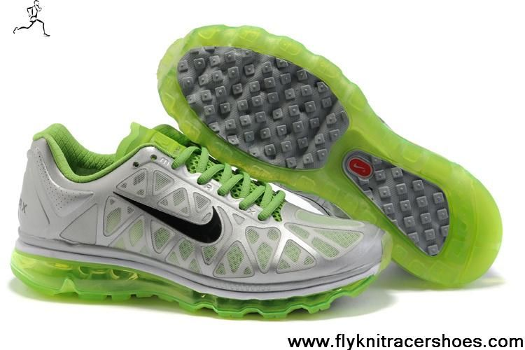 best sneakers a3da4 4a6ff Buy Cheap Nike Air Max 2011 Silver Green Black Mens 429889-518 The Most  Flexible Shoes