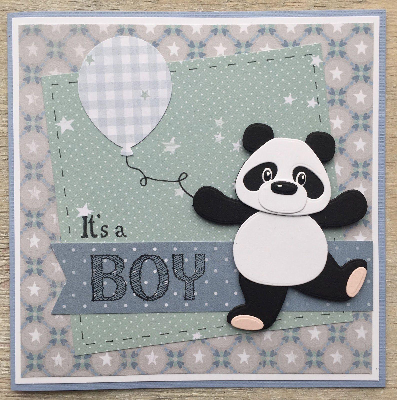 LindaCrea: Panda #3 - It's a Boy