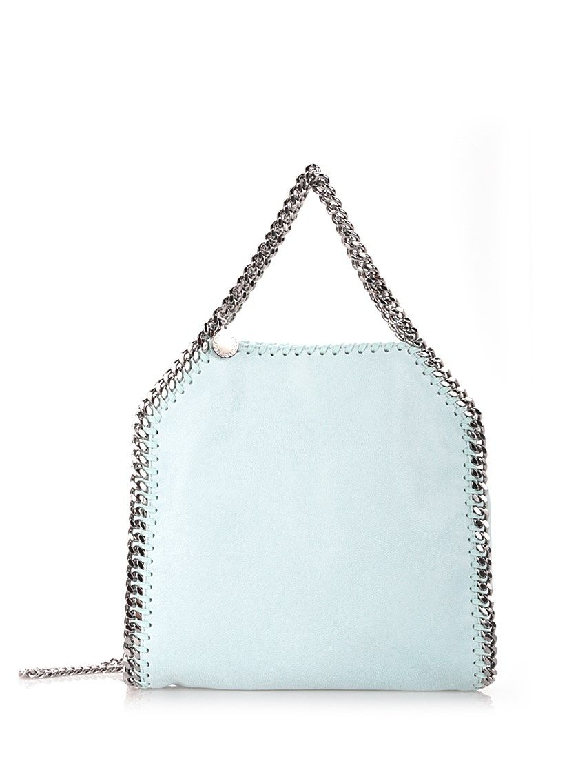 stella+mc+cartney+Sku+Blue+'Rainbow+Pop+Falabella'+tote+Light+Blue