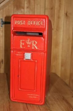 Cast Iron Post Box Er This Is A Beautiful Reproduction Post Box