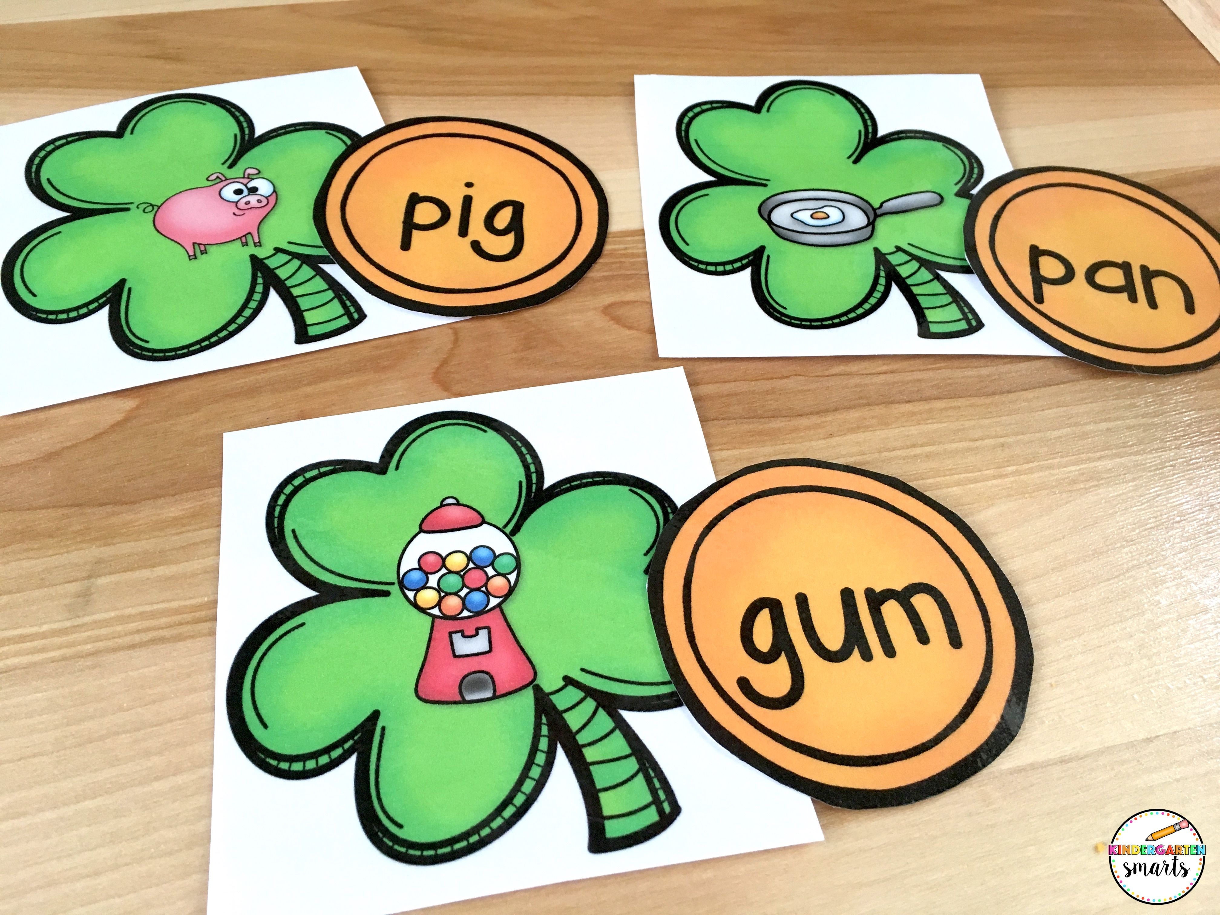 St Patrick S Day Centers Math And Literacy Activities