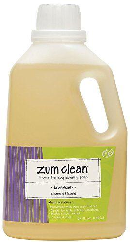 Zum Lavender Clean Laundry Soap 64 Oz 1 Count Check Out The