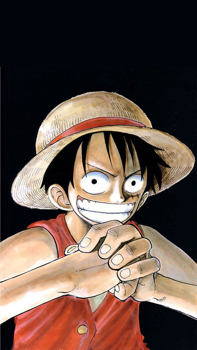 One Piece Iphone Wallpapers Animasi Bajak Laut Monyet