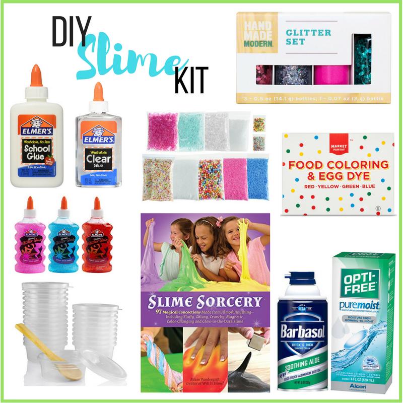 DIY Slime Kit & Marshmallow Fluff Slime Recipe Livin