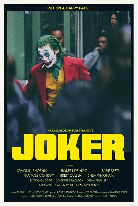Joker Retro Alternative Movie Poster Etsy Carteles De Peliculas Famosas Portadas De Peliculas Mejores Carteles De Peliculas
