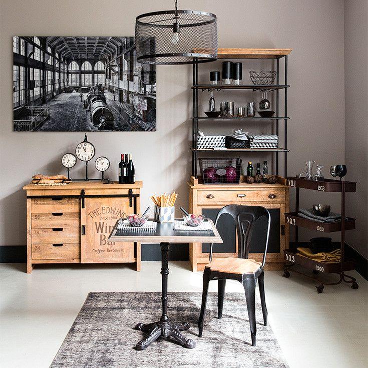 Industrial Furniture Vintage Industrial Maisons Du Monde Chaise Style Industriel Decoration Maison Et Decoration Interieur Maison