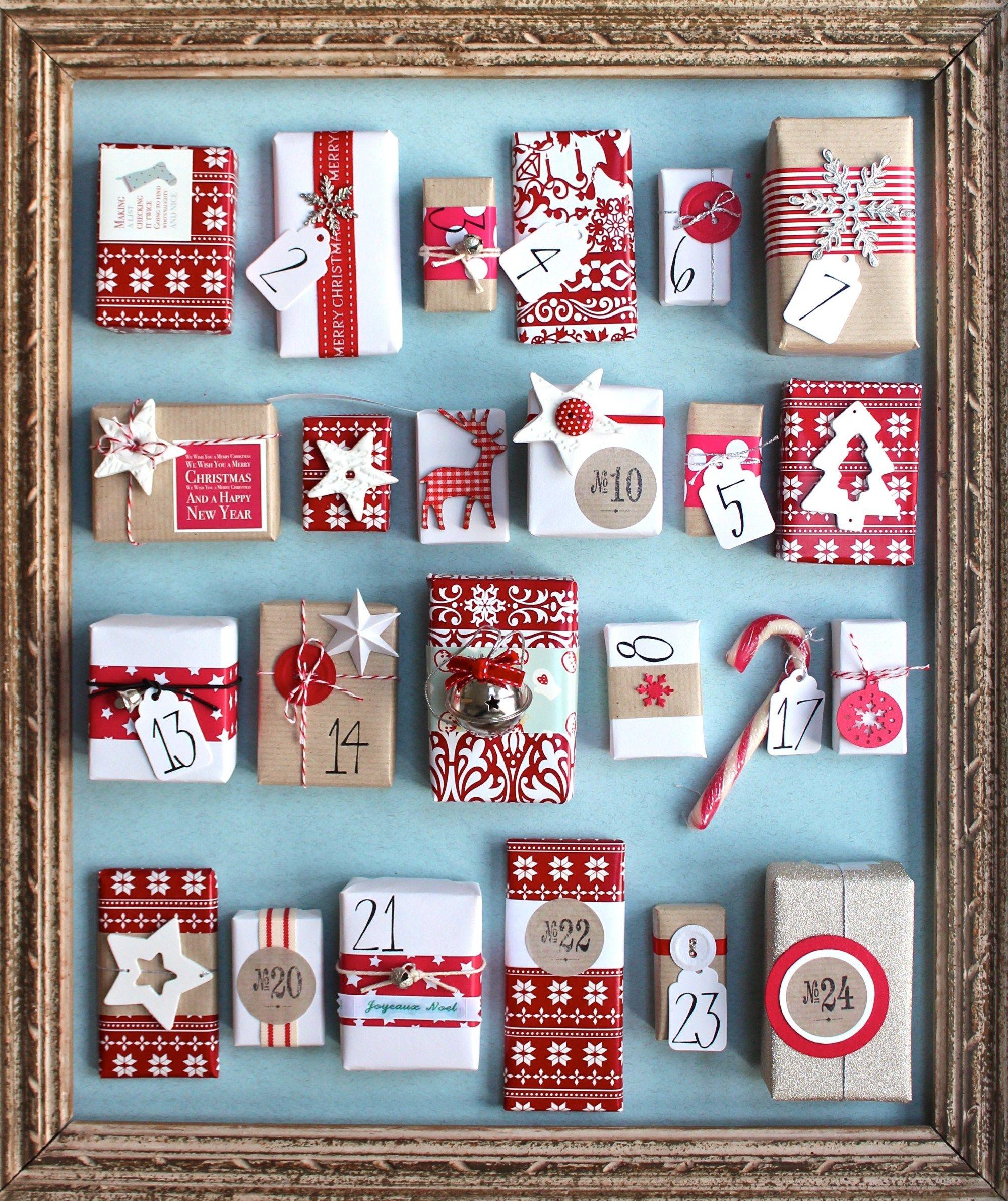 Photo of 40 DIY Christmas Advent Calendars – Nikki's Plate