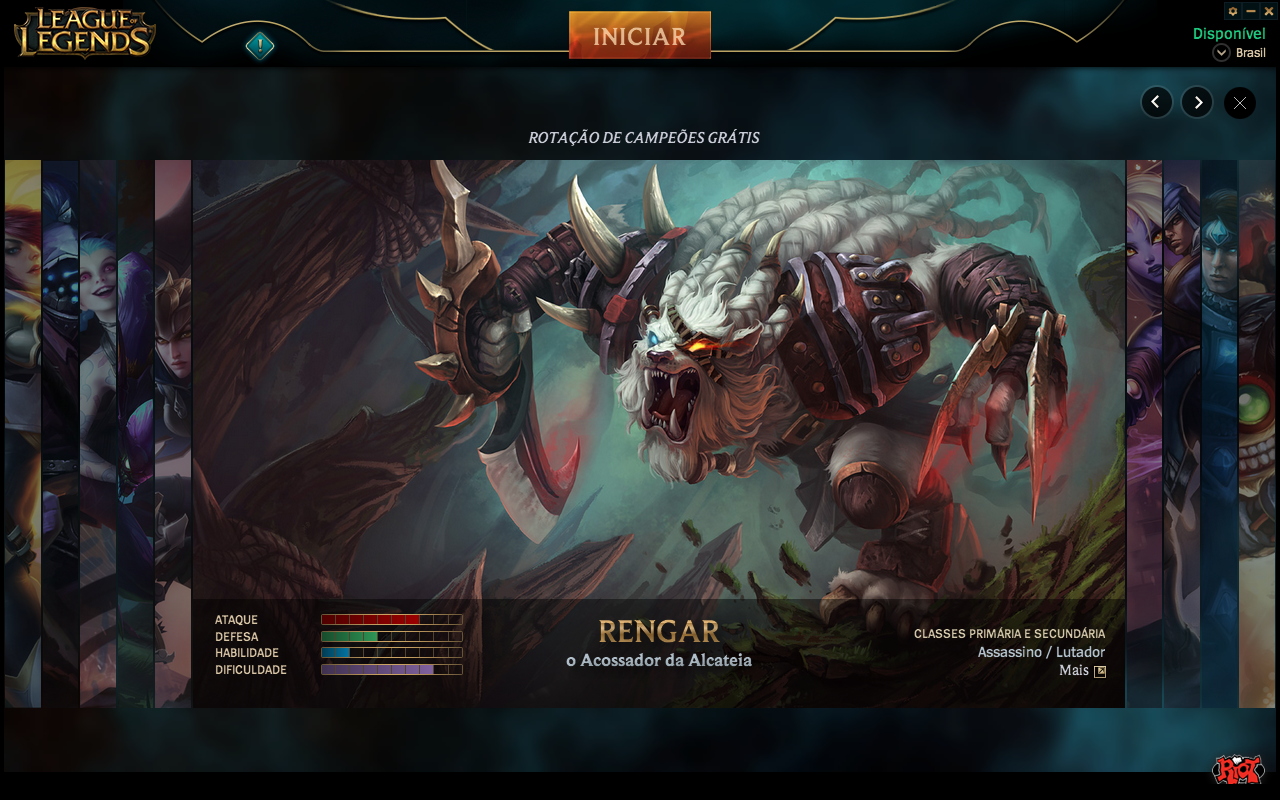 League of Legends OSX Launcher League of legends, League