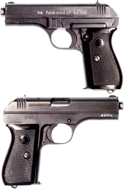 CZECH Model CZ-27 semiautomatic pistol ( 32 ACP) | Gun sites | Guns