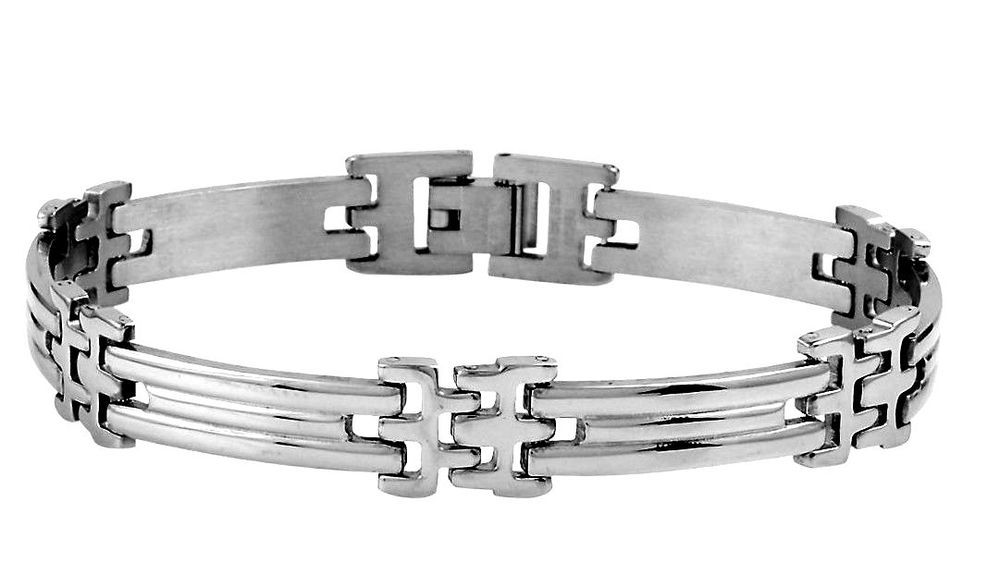 Mens Gents Stainless Steel  Bracelet  9 in CHRISTMAS IN JULY #Unbranded #Chain