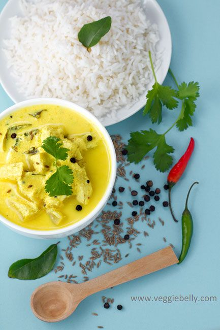 Mor Kuzhambu or South Indian Yoghurt Coconut Curry