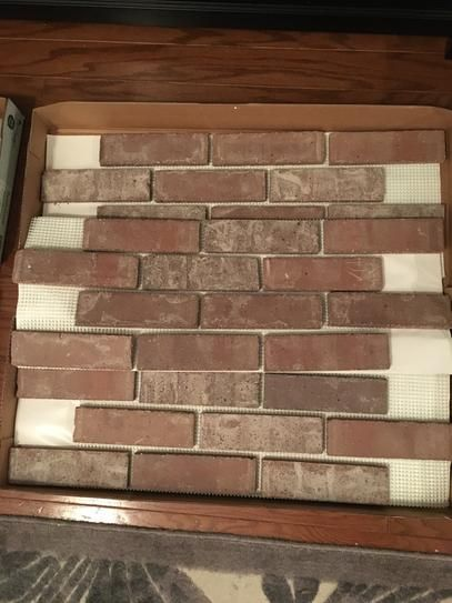 Old Mill Brick Little Cottonwood Brickweb Thin Brick Flats Bw 370010cs At The Home Depot Mobile Thin Brick Build A Fireplace Brick