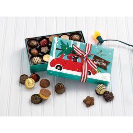 Holiday Chocolate Assortment 15pc   Christmas chocolate ...