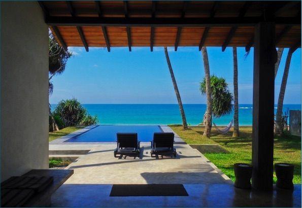 House Beachfront Villa Sri Lanka