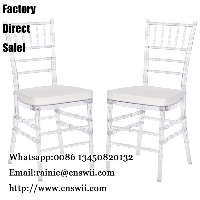 acrylic crystal tiffany chair manufacturer resin chiavari chairs