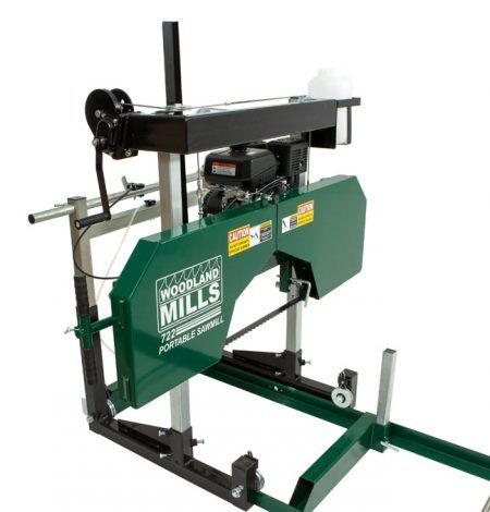 HM122 Portable Sawmill | Lathe