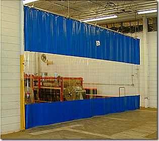 Industrial Curtain Walls Akon Curtain And Dividers Custom