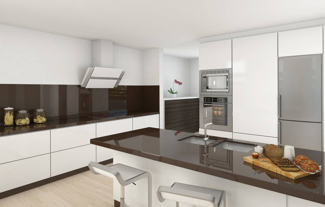 Casa moderna lujo interior buscar con google casas for Cocinas integrales modernas de lujo