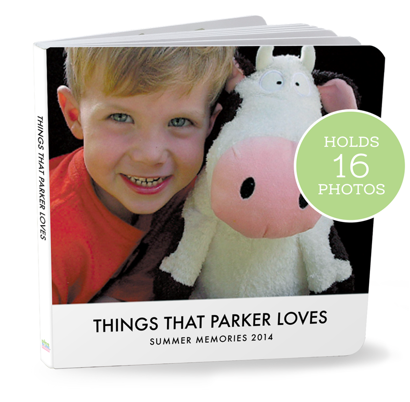 CUSTOM Board Books from Pint Size Productions (made in USA)
