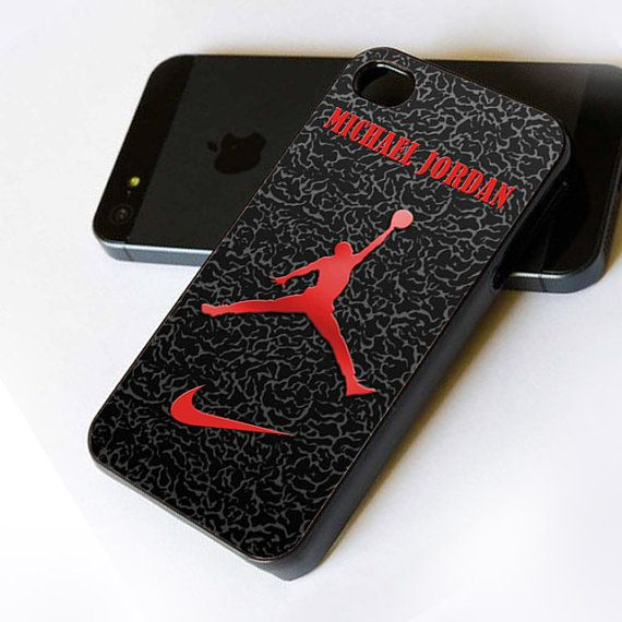 Nike Air Jordan Logo - iPhone Case Print on Hard Cover - iPhone 4 Case -  iPhone Case - iPhone 5 Case