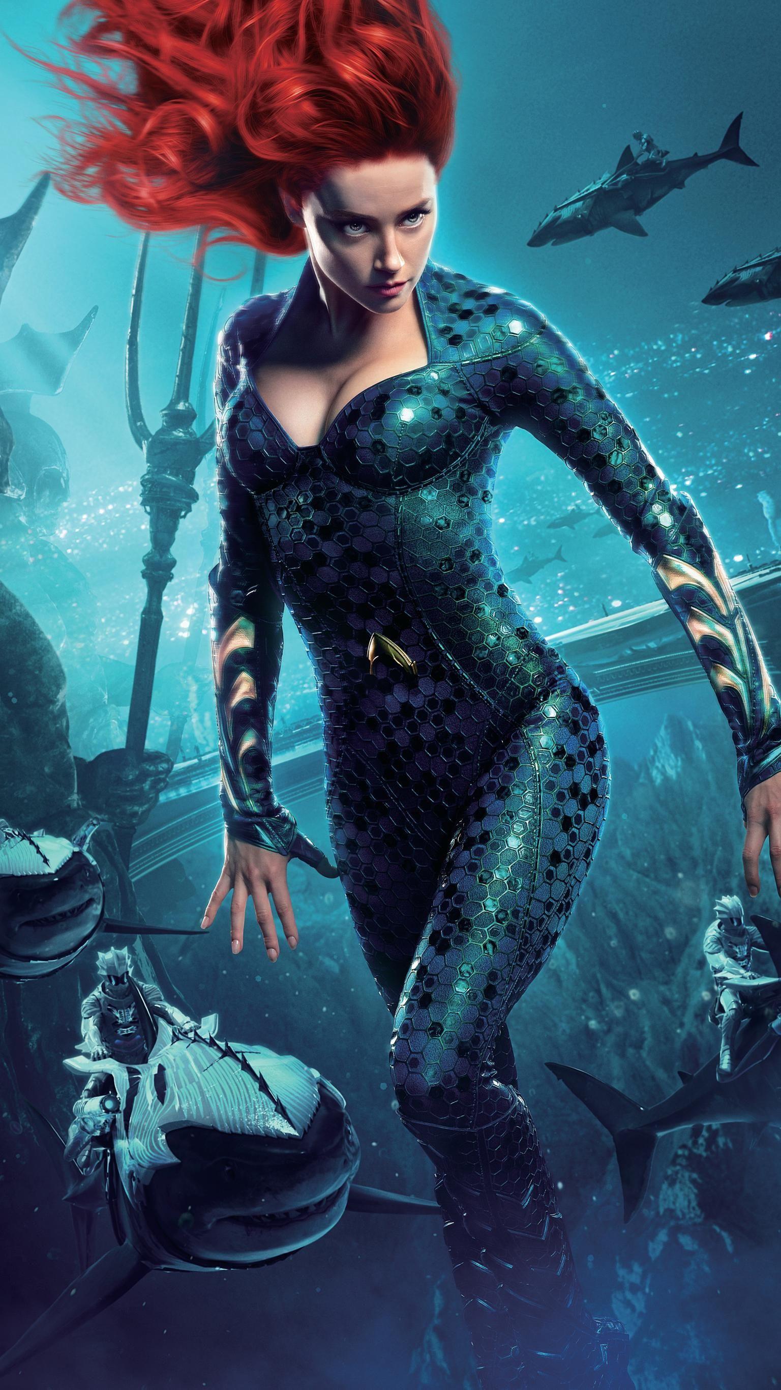 Aquaman (2018) Phone Wallpaper