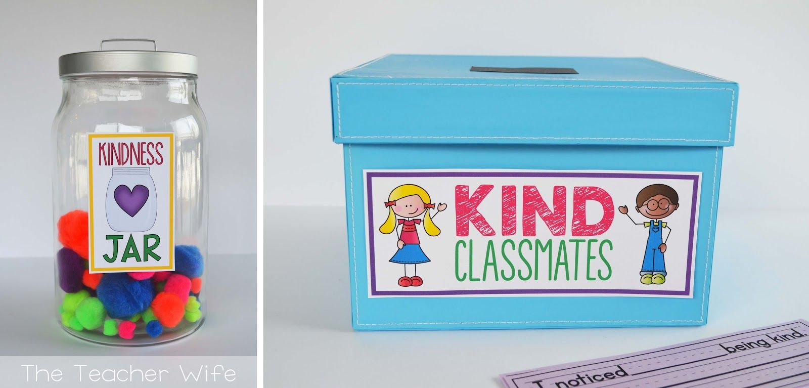 The Teacher Wife The Classroom Kindness Project Kindness Projects Classroom Classroom Management Quotes