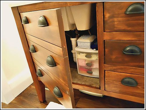 Cabinet Doors that Look like Drawers