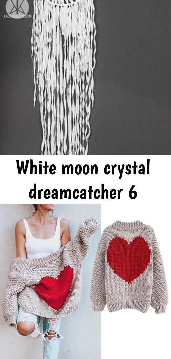 White moon crystal dreamcatcher 6 Free Shipping  KADABRA Free Shipping  Easy Return Up to 30 Off Key to My Heart Hand Knit Chunky Cardiganlifewithmeag Awesome DIY tips ar...