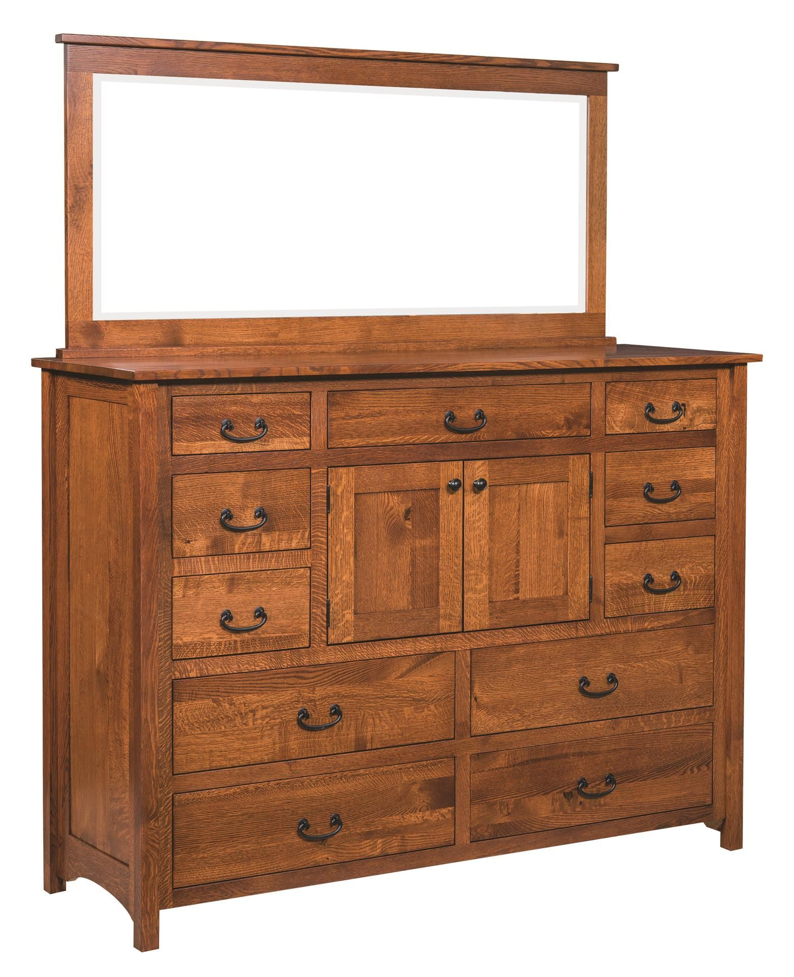 Amish Np Mission Deluxe Dresser With Optional Mirror Diy Storage Ideas For Small Bedrooms Wood Projects Plans Easy Woodworking Projects