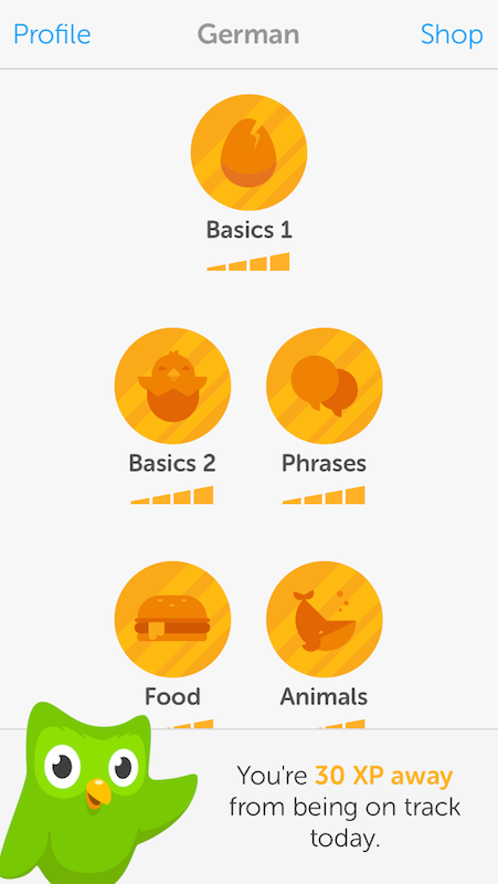 German lessons with Duolingo   SPEND LESS, TRAVEL MORE
