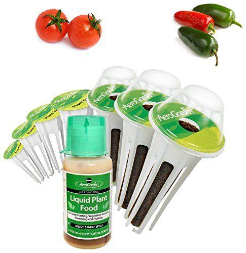 Miraclegro Aerogarden Salsa Garden Seed Pod Kit 7Pod 640 x 480