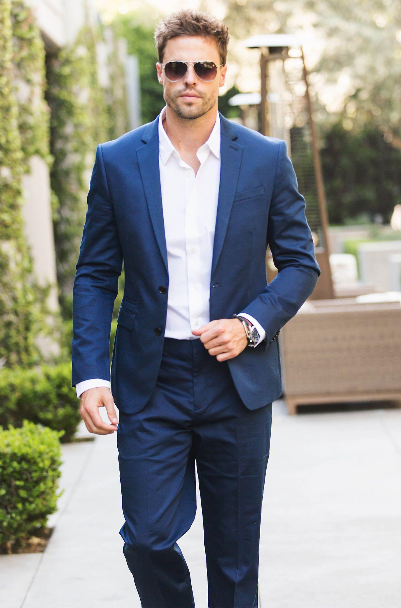 3 Wedding Season Menswear Essentials Menswear, Blue suit