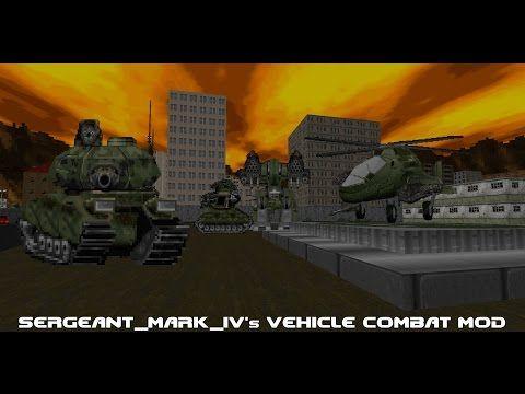 Vehicle Combat Mod Demo for GZDoom/Zandronum - Tanks, Mechs