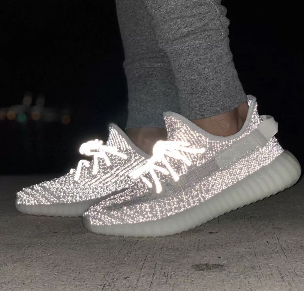 Adidas Yeezy Boost 350 V2 3M Static Reflective Shoes