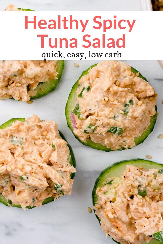 Spicy Tuna Salad - Slender Kitchen