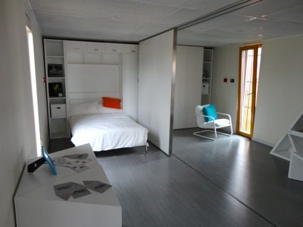 Bedroom With A Moveable Parion Wall Could Eventually Turn One Room Into Two Kids