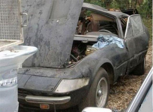 A Ferrari Daytona Coupe Barn Find