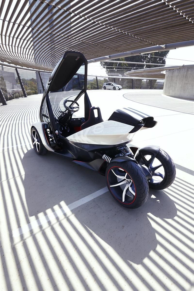 2012 Opel Rak E Concept Autos From The Future Pinterest Cars Bmw I1 Is An Electric Singleseater Trikecar By Designer